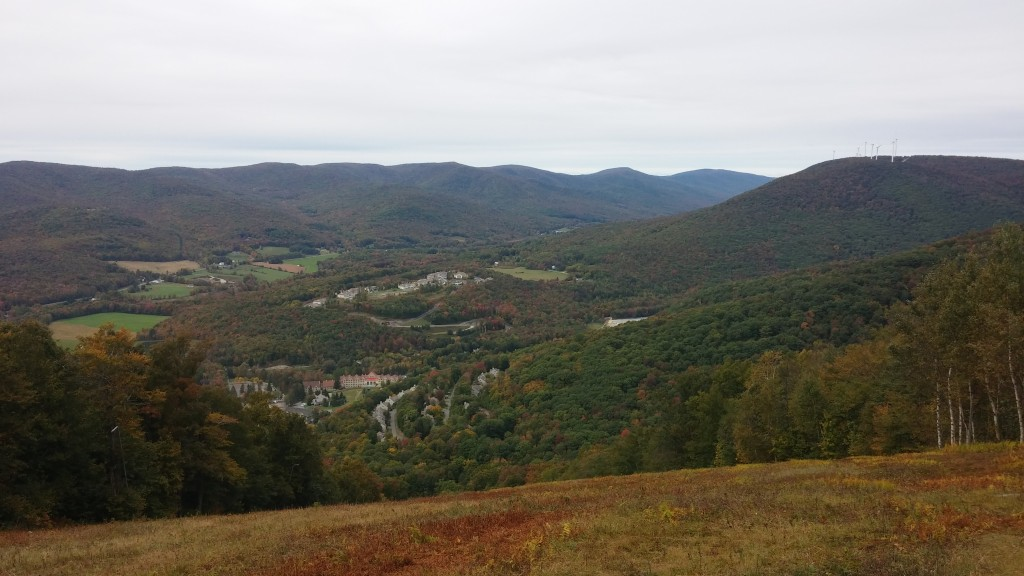 A view of the Adirondaks from the top of Jiminy Peak.