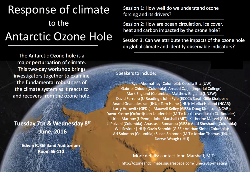 Ozone and Climate Project annual meeting