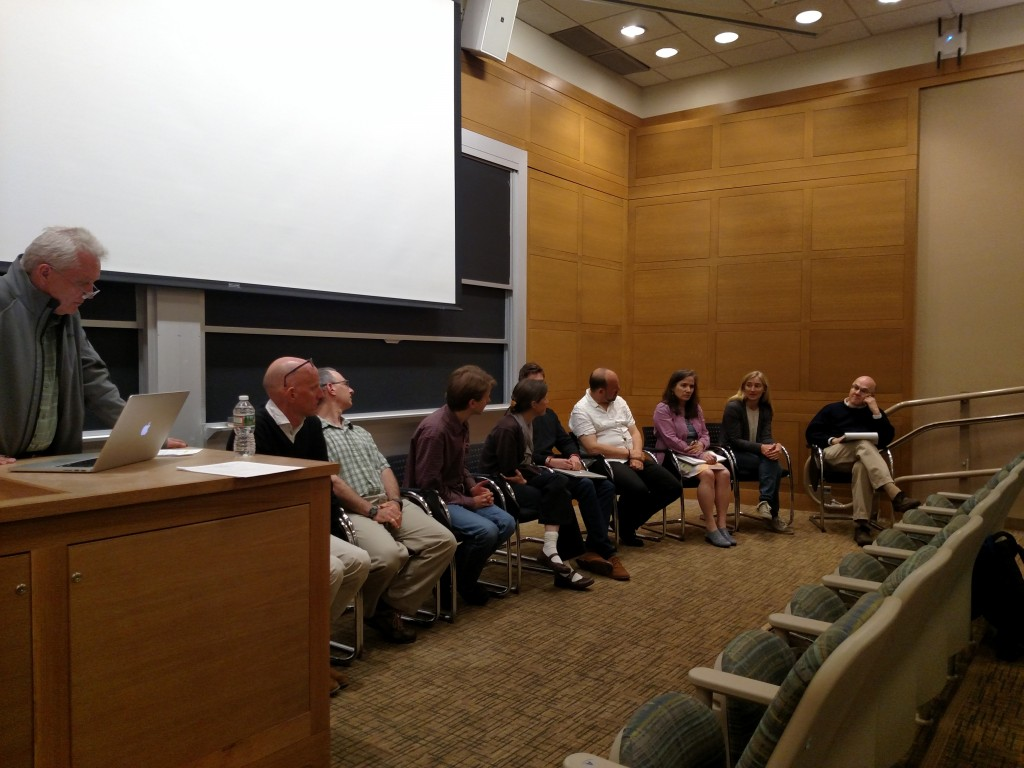 Panel 3 discusses the third theme. (Photo: John Marshall)