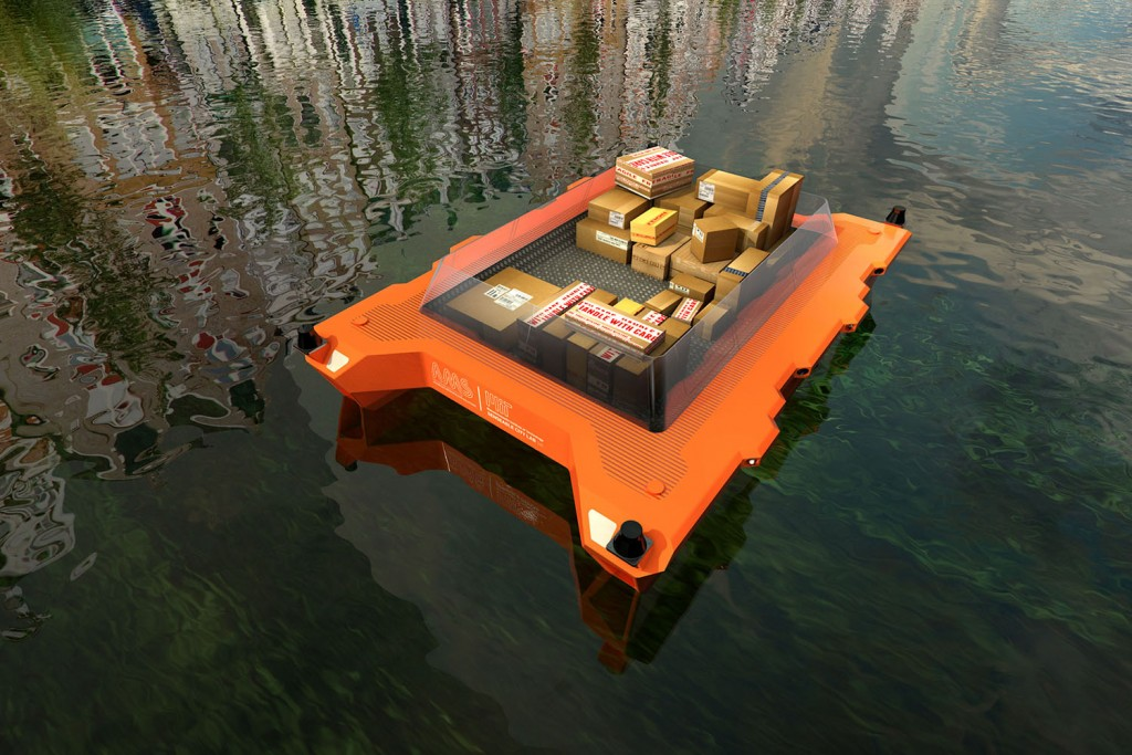 The new ROBOAT project will investigate how urban waterways can be used to improve the city's function and quality of life. (Photo: SENSEable City Lab)