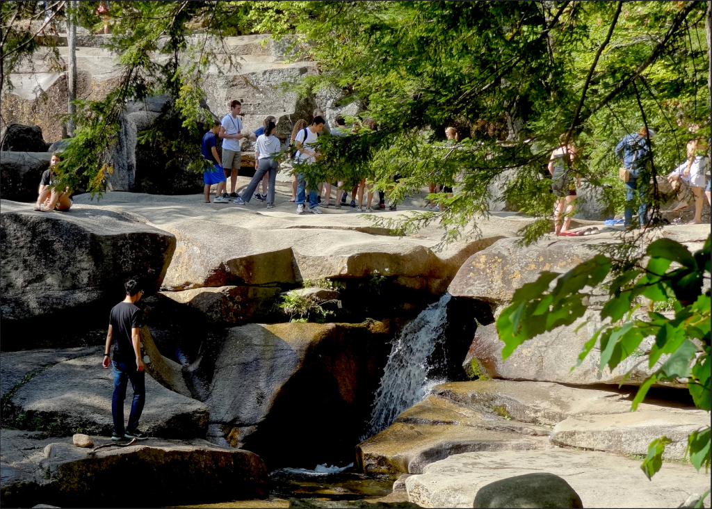 Diana's Baths in New Hampshire