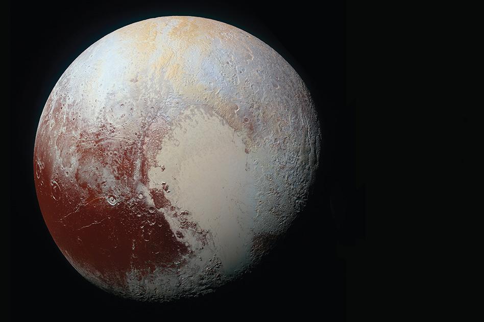 Pluto (Photo: NASA/JHUAPL)