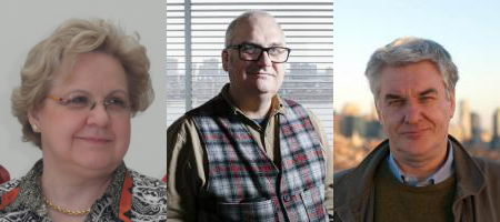 Senior Lecturer Lodovica Illari, Associate Professor Mick Follows, Cecil and Ida Green Professor of Oceanography John Marshall