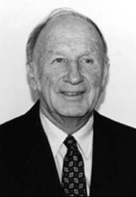 Edward Norton Lorenz (1917 - 2008), a famous American meteorologist and mathematician.