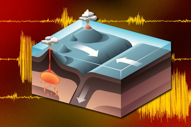 New findings suggest the ancient Earth harbored a mantle that was much more efficient at drawing down pieces of the planet's crust. (Image: MIT News)