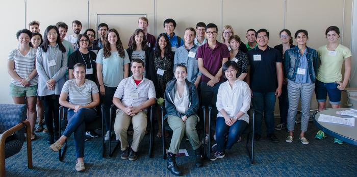 28 new graduate students join EAPS. (Photo:  Vicki McKenna)