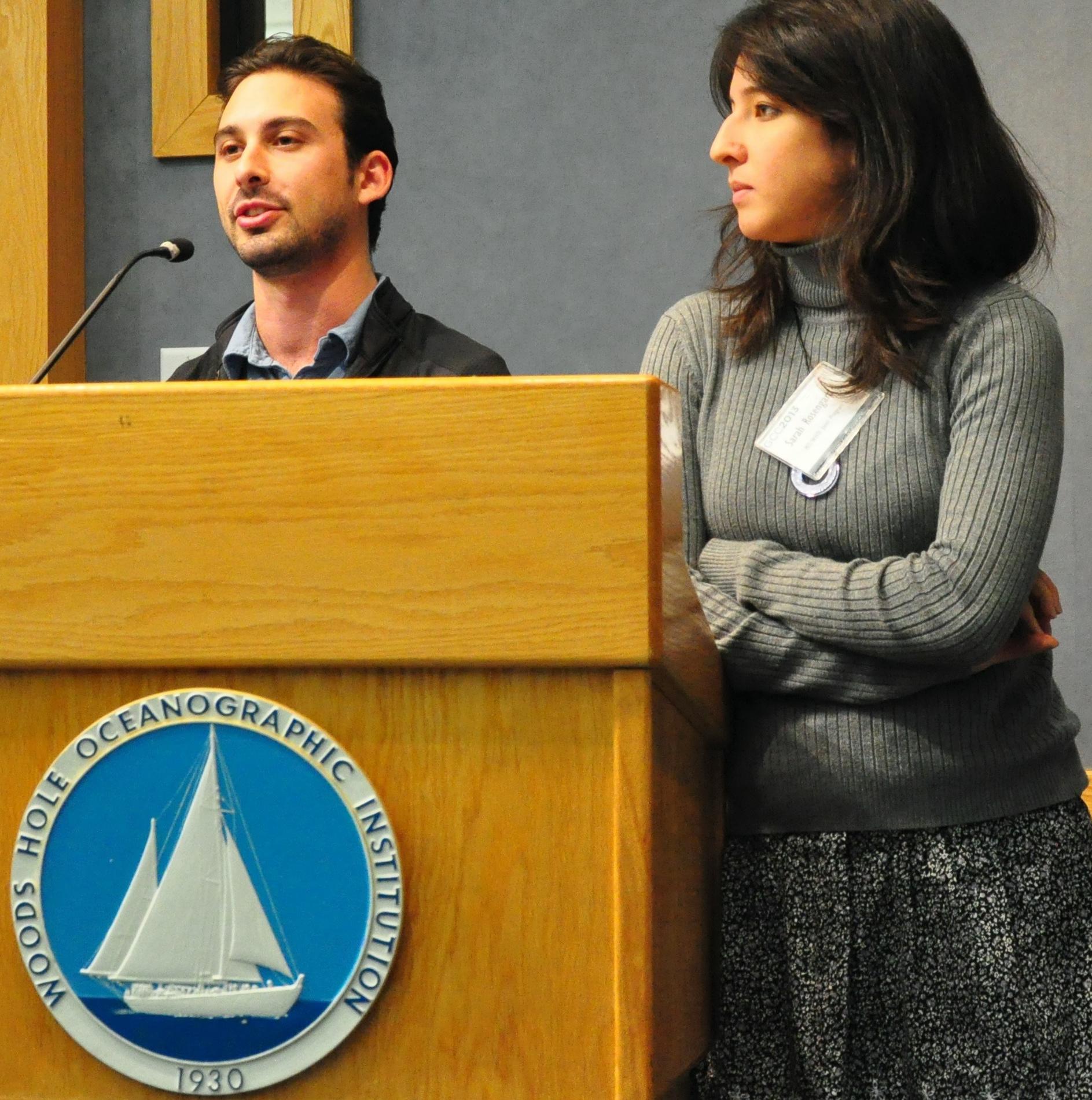 Daniel Rothenberg and Sarah Rosengard Photo: Allison Wing
